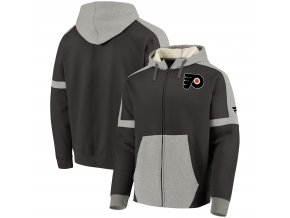 Mikina Philadelphia Flyers Iconic Fleece Full-Zip Hoodie
