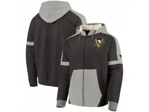 Mikina Pittsburgh Penguins Iconic Fleece Full-Zip Hoodie