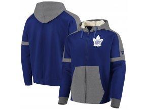 Mikina Toronto Maple Leafs Iconic Fleece Full-Zip Hoodie
