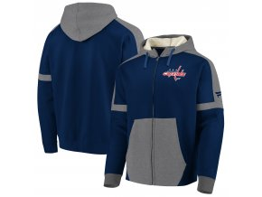 Mikina Washington Capitals Iconic Fleece Full-Zip Hoodie
