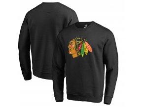 Mikina Chicago Blackhawks Primary Team Logo Pullover Sweatshirt