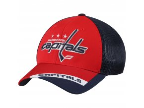 Kšiltovka Washington Capitals adidas Sublimated Visor Meshback Flex