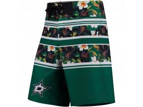 Plavky Dallas Stars Floral Stripe Boardshorts
