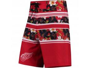 Plavky Detroit Red Wings Floral Stripe Boardshorts