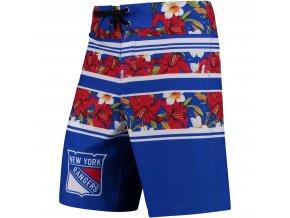 Plavky New York Rangers Floral Stripe Boardshorts