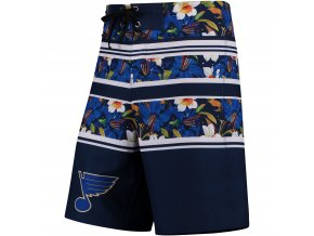 Plavky St. Louis Blues Floral Stripe Boardshorts