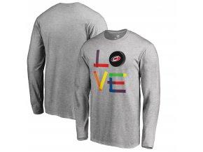 Tričko Carolina Hurricanes Hockey Is For Everyone Love Square