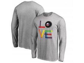 Tričko New York Islanders Hockey Is For Everyone Love Square