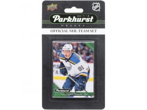 Hokejové Karty St. Louis Blues Upper Deck Parkhurst 2017/18 Team Card Set