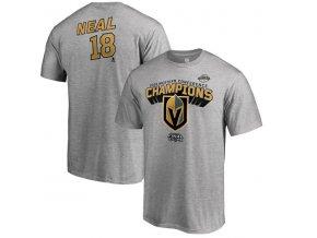 Tričko #18 James Neal Vegas Golden Knights 2018 Western Conference Champions
