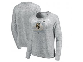 Dámská Mikina Vegas Golden Knights 2018 Western Conference Champions Big Time Play Crewneck