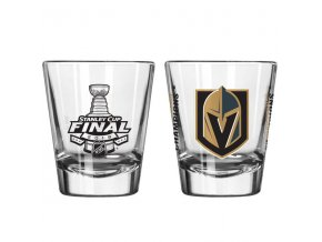 Panák Vegas Golden Knights 2018 Western Conference Champions Shot Glass