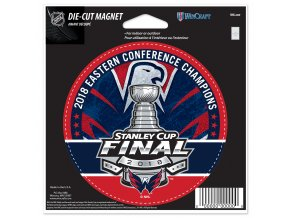 Magnetka Washington Capitals 2018 Eastern Conference Champions 12,5x15 cm
