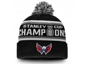 Zimní čepice Washington Capitals 2018 Stanley Cup Champions