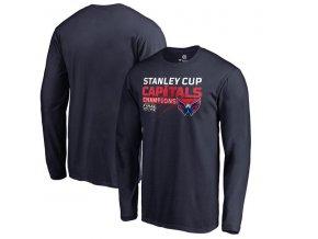 Pánské tričko Washington Capitals 2018 Stanley Cup Champions Pumped Up dlouhý rukáv (Velikost XXL)