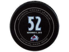 Puk Adam Foote November 2, 2013 Retirement Night Official Game Puck