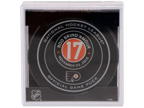 Puk Rod Brind'Amour November 23, 2015 Retirement Night Official Game Puck