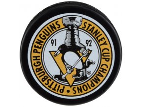 Puk Pittsburgh Penguins 1992 Stanley Cup Champions