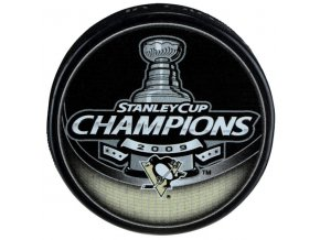 Puk Pittsburgh Penguins 2009 Stanley Cup Champions