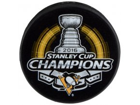 Puk Pittsburgh Penguins 2016 Stanley Cup Champions