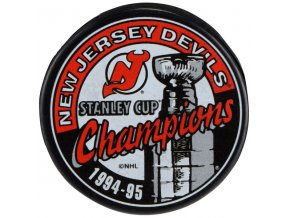 Puk New Jersey Devils 1995 Stanley Cup Champions
