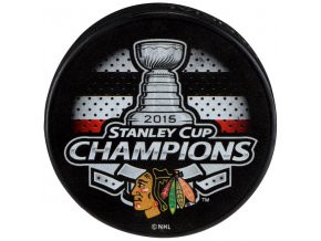 Puk Chicago Blackhawks 2015 Stanley Cup Champions