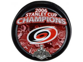 Puk Carolina Hurricanes 2006 Stanley Cup Champions