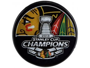 Puk Chicago Blackhawks 2013 Stanley Cup Champions
