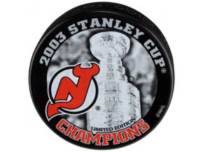 Puk New Jersey Devils 2003 Stanley Cup Champions