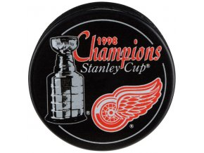 Puk Detroit Red Wings 1998 Stanley Cup Champions