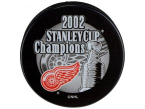 Puk Detroit Red Wings 2002 Stanley Cup Champions