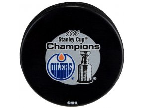 Puk Edmonton Oilers 1990 Stanley Cup Champions