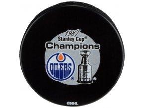 Puk Edmonton Oilers 1987 Stanley Cup Champions