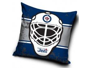 Polštářek Winnipeg Jets NHL Maska