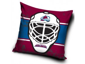 Polštářek Colorado Avalanche NHL Maska