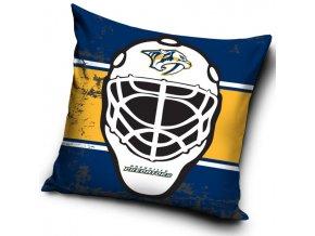 Polštářek Nashville Predators NHL Maska