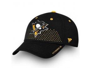 Kšiltovka Pittsburgh Penguins 2018 NHL Draft Flex
