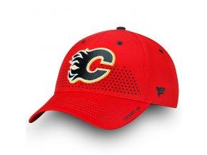 Kšiltovka Calgary Flames 2018 NHL Draft Flex