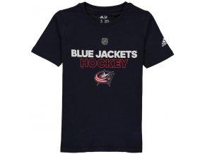 Dětské Tričko Columbus Blue Jackets Adidas Authentic Ice