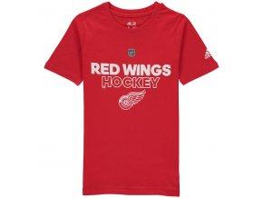 Dětské Tričko Detroit Red Wings Adidas Authentic Ice
