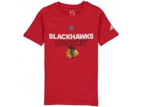Dětské Tričko Chicago Blackhawks Adidas Authentic Ice