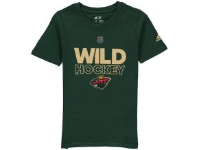 Dětské Tričko Minnesota Wild Adidas Authentic Ice