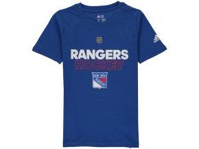 Dětské Tričko New York Rangers Adidas Authentic Ice