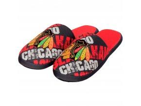 Pantofle Chicago Blackhawks Digital Print