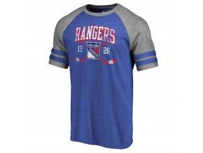 Tričko New York Rangers Line Shift Tri-Blend