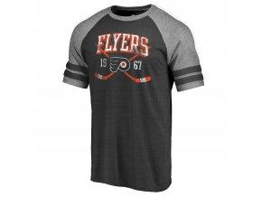Tričko Philadelphia Flyers Line Shift Tri-Blend