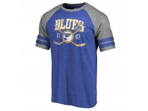 Tričko St. Louis Blues Line Shift Tri-Blend