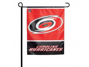 Vlajka Carolina Hurricanes Garden Flag
