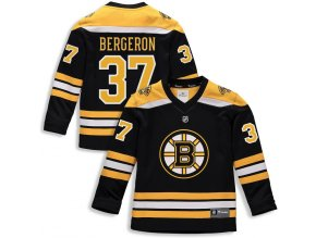 Dětský Dres #37 Patrice Bergeron Boston Bruins Replica Home Jersey