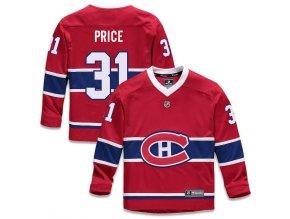 Dětský Dres #31 Carey Price Montreal Canadiens Replica Home Jersey